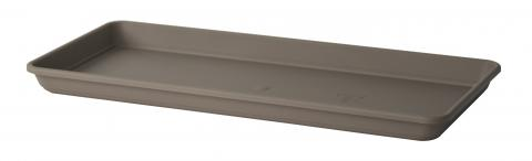 akea oblong tray taupe