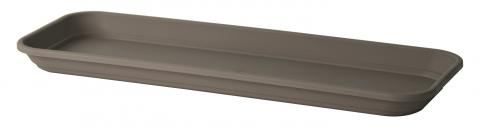 kalis oblong tray taupe