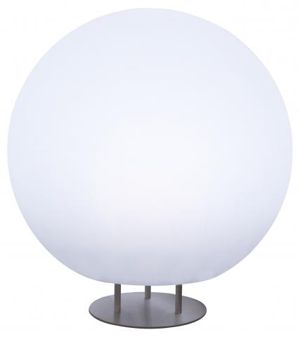 sfera c/piedistallo light neutral