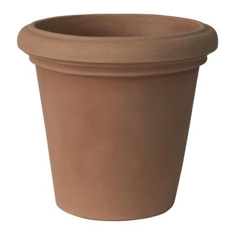 camelie liscio vaso terra di siena