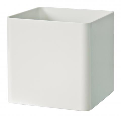 cubik vaso bianco