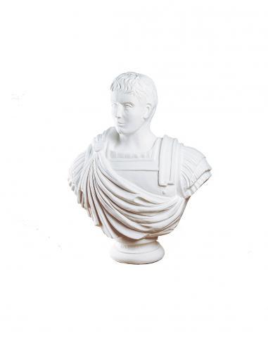 cesare augusto busto bianco