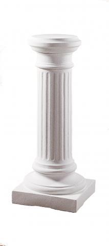 creta colonna bianco