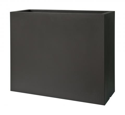 kube high cassetta con ruote nero perla