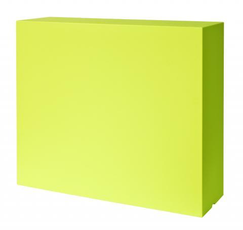 kube high slim modulo verde acido