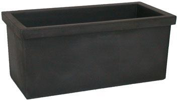 siepi doppia parete cassetta nero perla