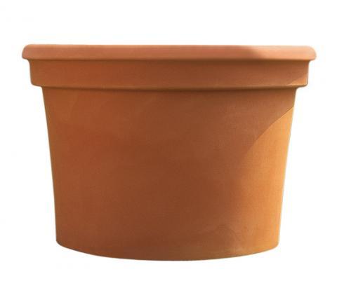 cilindro vaso terra di siena