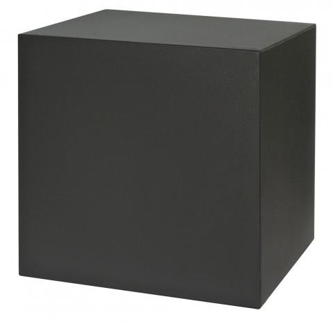 kube sgabello nero perla