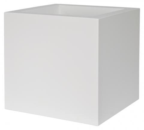kube vaso con ruote bianco C2