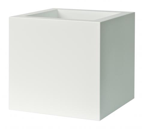 kube vaso gloss c/ruote bianco C2