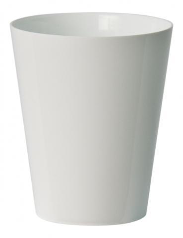 clivo orchidea vaso bianco