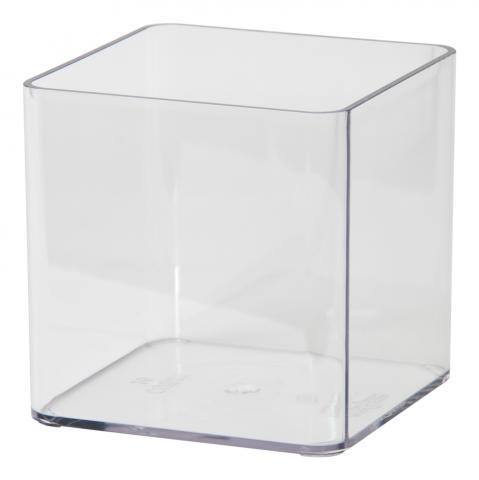 cubik vision vaso trasparente neutro trasparente
