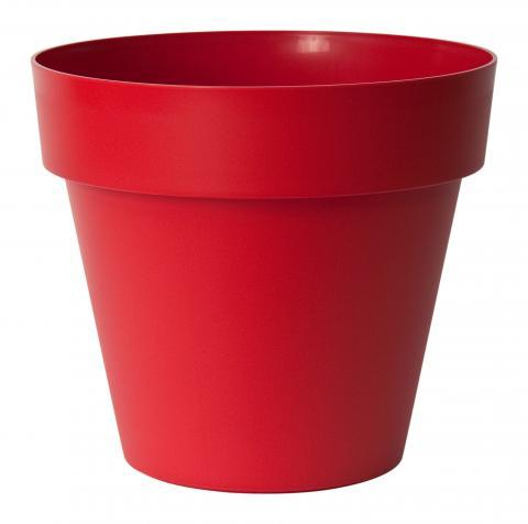 mitu pac vaso con fori rosso smalto