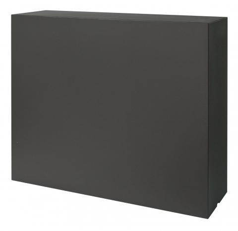 kube high slim modulo nero perla