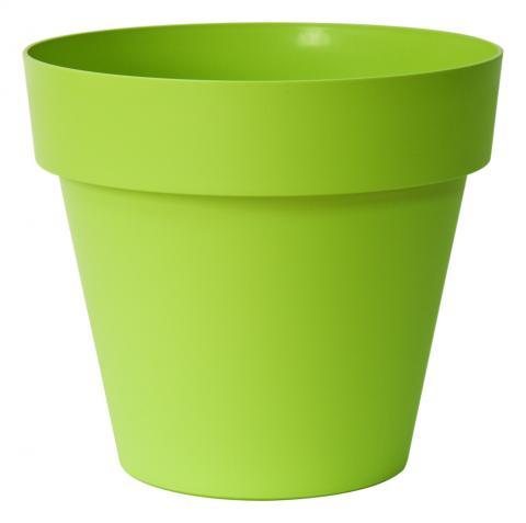 mitu pot with holes acid green