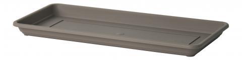 gardenie oblong tray taupe