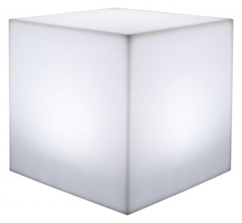 kube tabouret lampe neutre