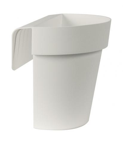 up vaso con riserva bianco