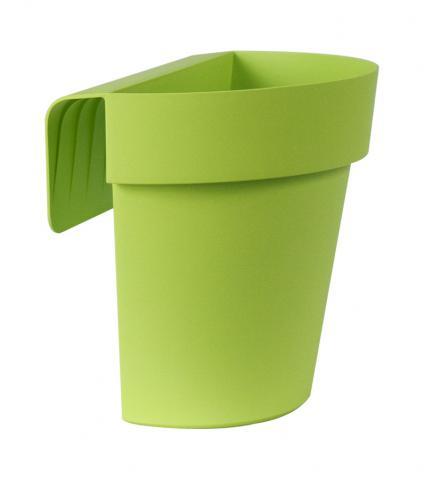 up vaso con riserva verde acido