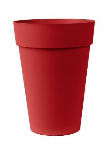 liken vaso rosso smalto