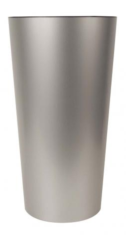 tuit vaso laccato opaco argento
