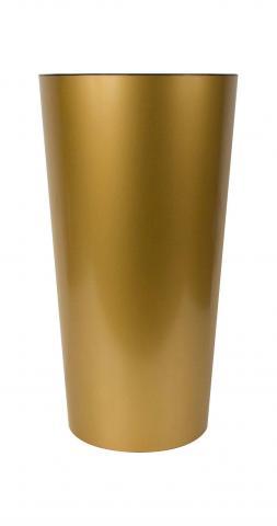 tuit vaso laccato opaco oro
