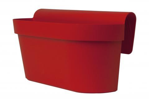 up cassetta rosso smalto